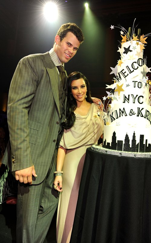 Kim Kardashian And Kris Humphries Celebrate Their Wedding In NYC