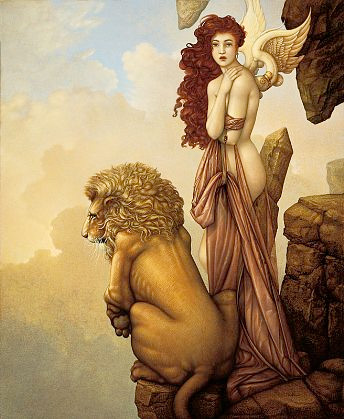 michael parkes painting