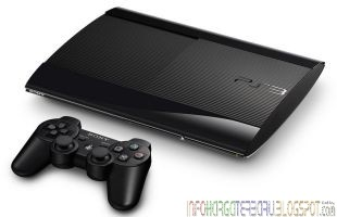 Sony Playstation 3 Generasi PS Lebih Kecil Tipis & Ringan