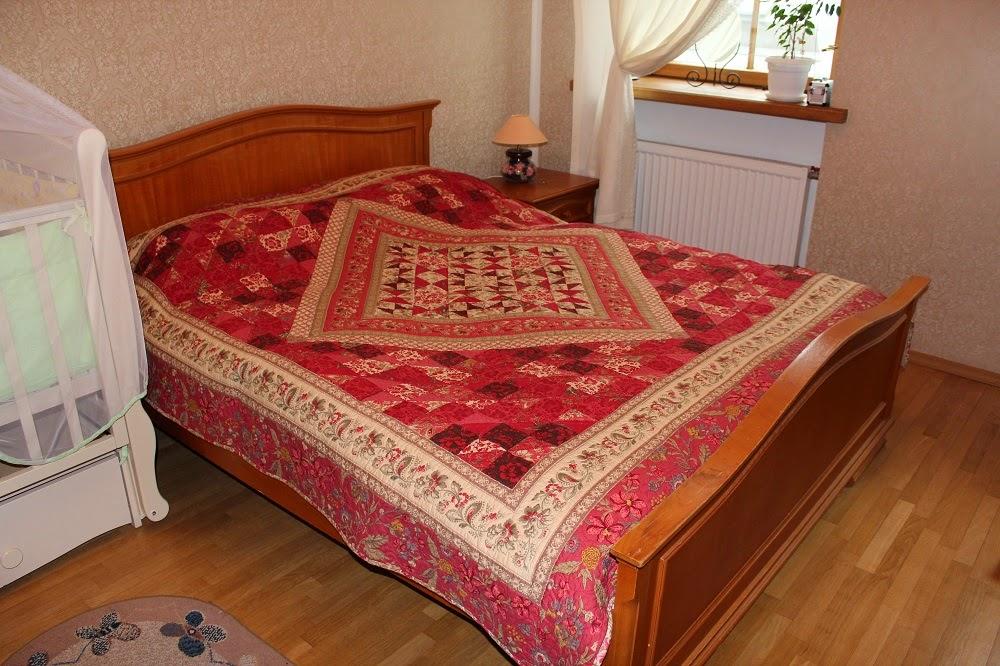 Традиционное одеяло ручной работы