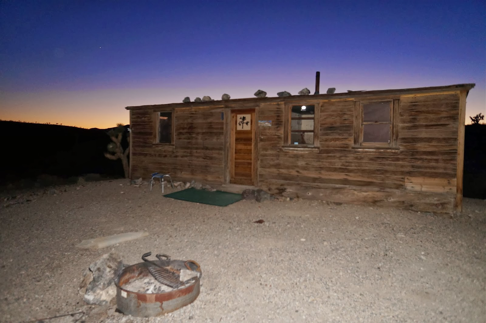 David Stillman Boxcar Cabin Death Valley