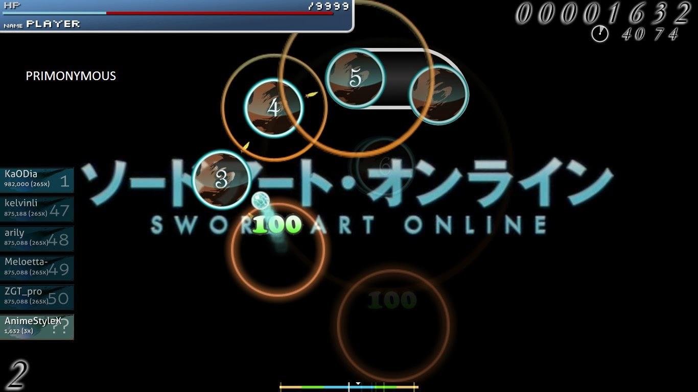 Osu! Free to Play Online Rhythm Game