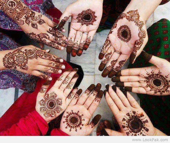 Best Bridal Mehndi Designs : Beautiful latest simple arabic pakistani indian bridal