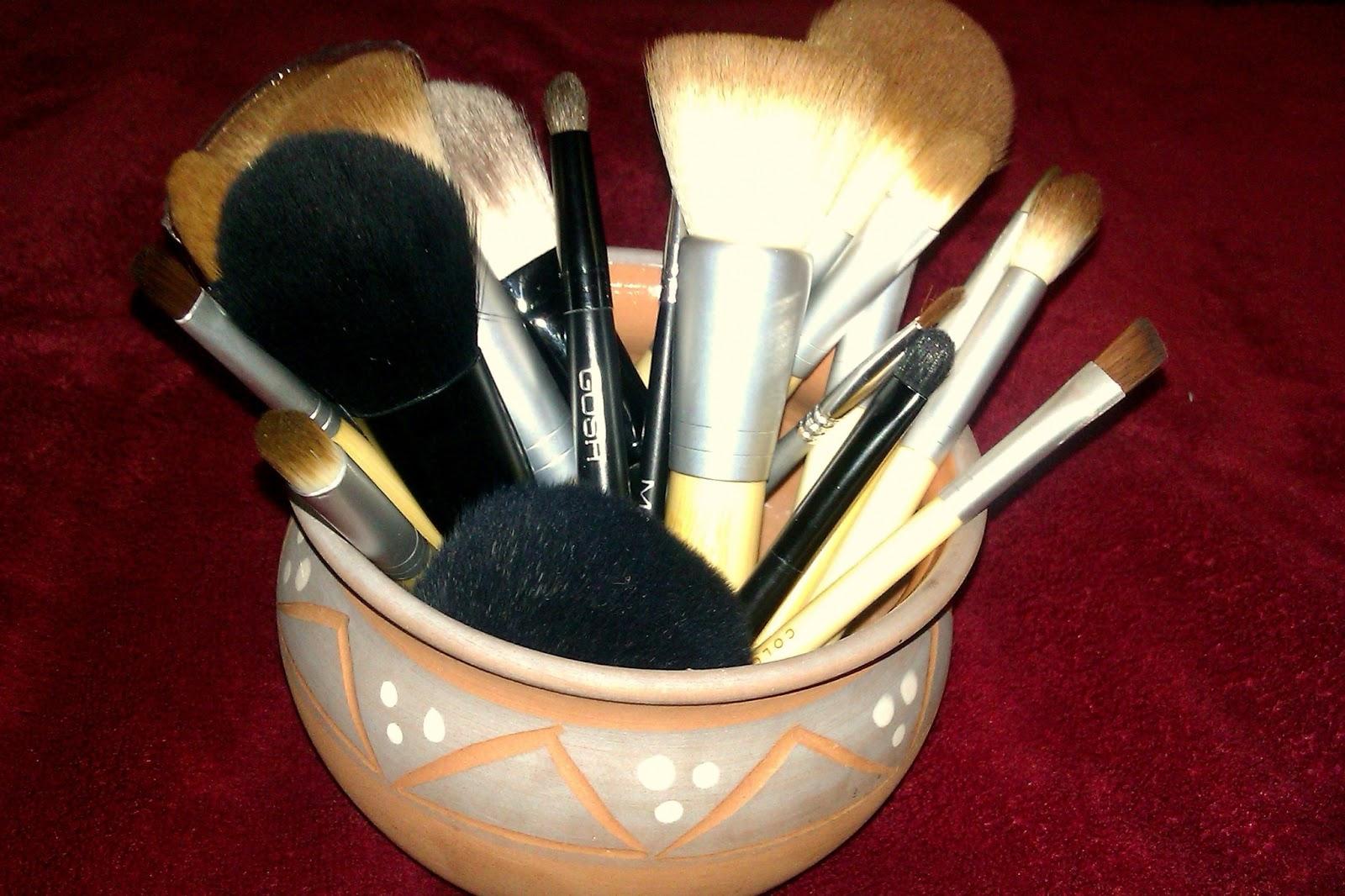 Štetce na make-up