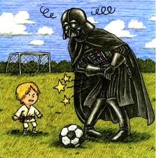 Star Wars. Darth Vader e hijo Cómics Star Wars futbol Jeffrey Brown
