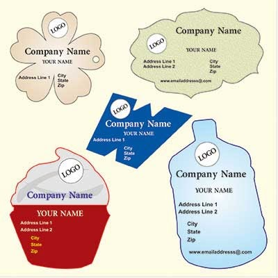 Custom shape business cards for Business cards shapes