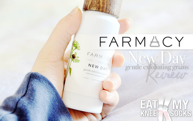 A few weeks ago, I received an innovative skincare product from Farmacy: their New Day gentle exfoliating grains. This water-activated exfoliating cream is said to be an all-inclusive skincare treatment, with natural ingredients to clear, soothe, and protect skin.
