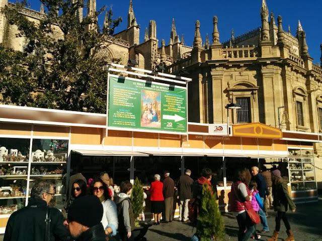 Feria del belén en Sevilla