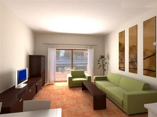 Dekorasi Interior Ruang TV Minimalis 2014