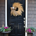 Our Front Door and Wreath Giveaway