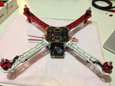 Como montar um air drone - DJI