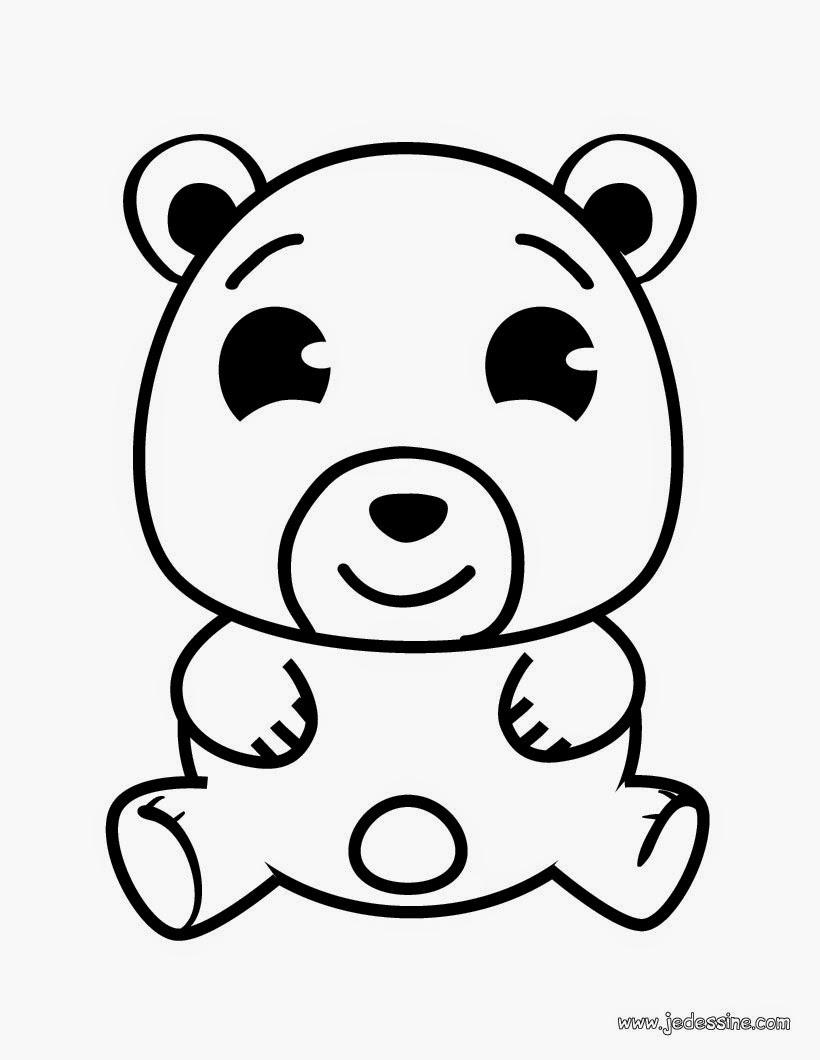 Coloriage Ours À Imprimer - Coloriage Petit ours brun Coloriages à imprimer gratuits