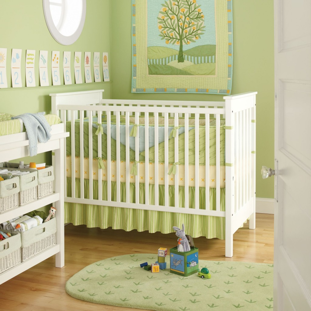 Green Baby Nursery Ideas