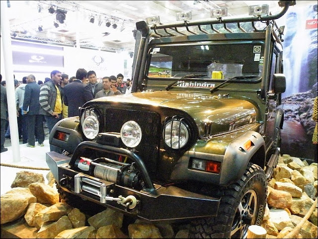 Mahindra Thar Car Wallpaper