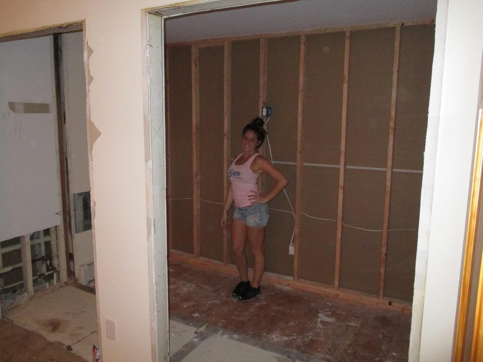 J S Blog Renovation Day 2 Walk In Closet
