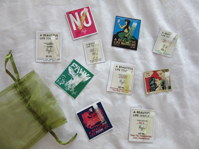 a beautiful life perfume samples