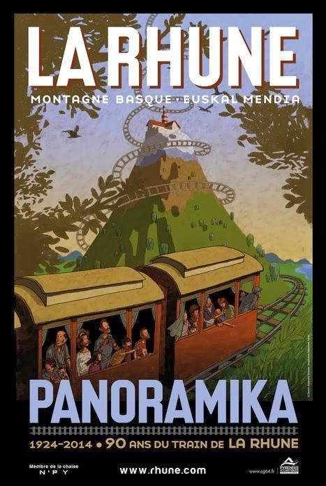 90 ans pour le petit train de la Rhune 1924-2014 pays basque