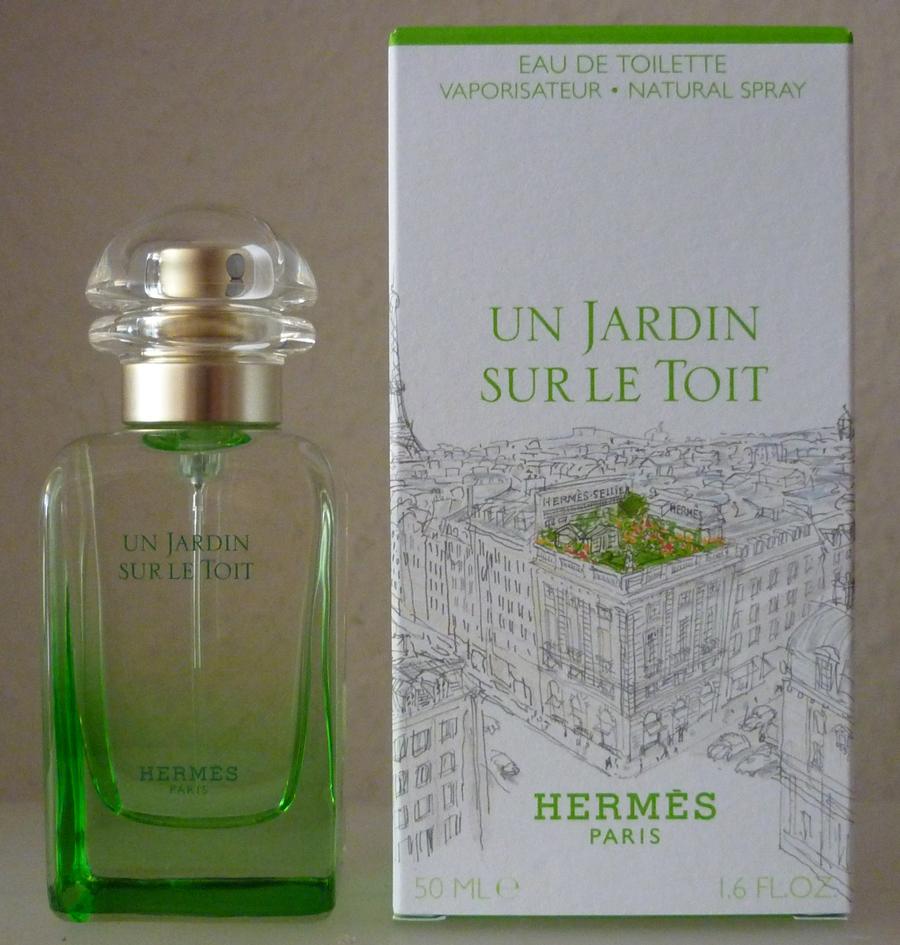 Stopnmakeup fragrant treat hermes un jardin sur le toit for Parfum un jardin sur le toit