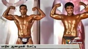 Mariya Dilip wins Mr. Tamil Nadu title