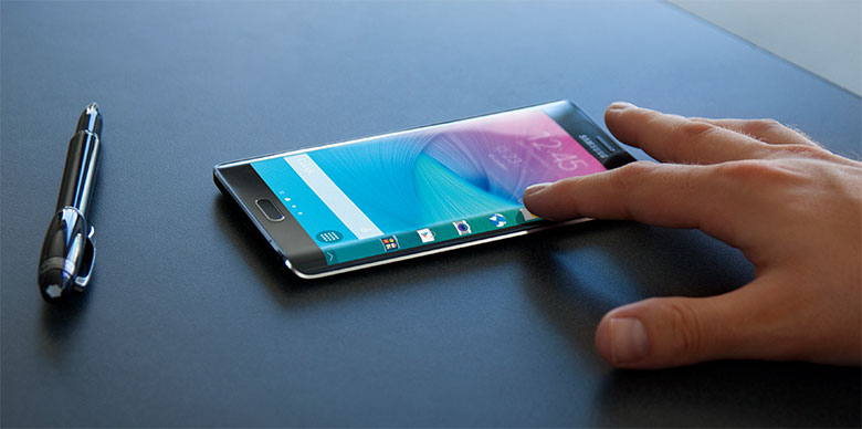 Keistimewaan layar Samsung Galaxy S6 Edge