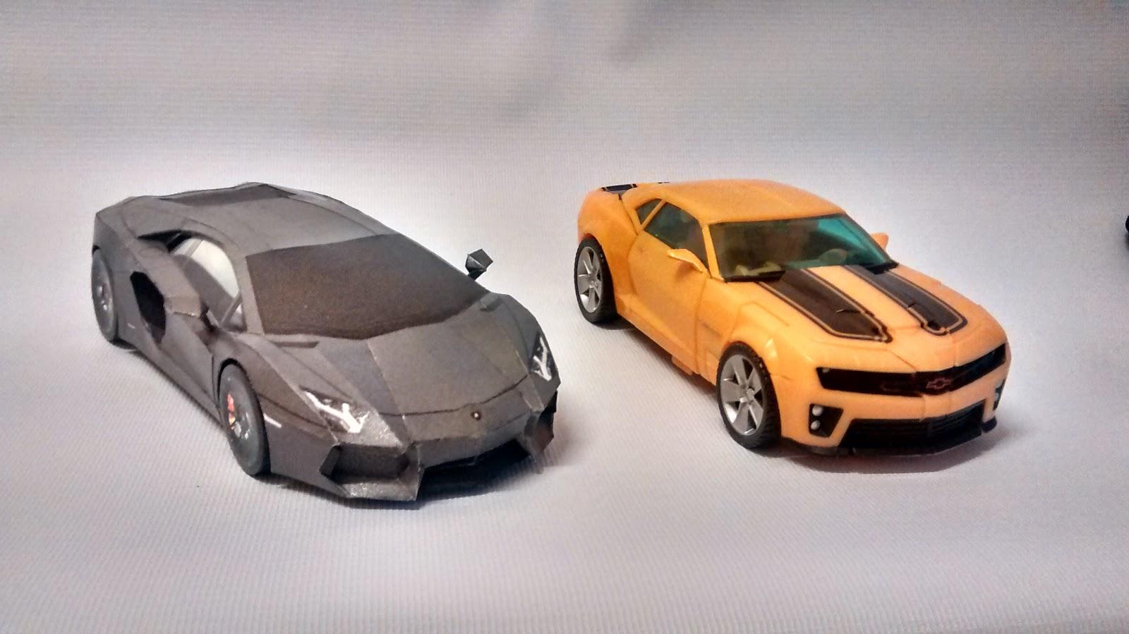 Best Papercraft Car Art Template Aventador Inspired 3d