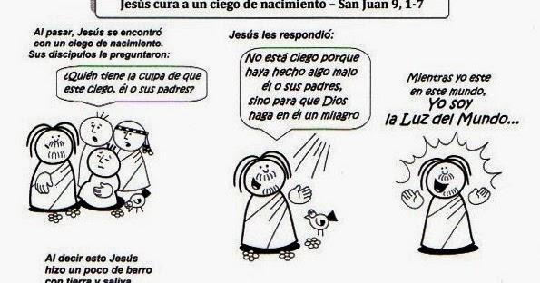 SGBlogosfera. Amigos de Jesús: JESÚS CURA AL CIEGO DE NACIMIENTO