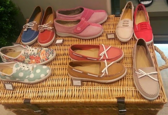 Hotter Shoes Range for Summer 2014 - Pumps and Trends range