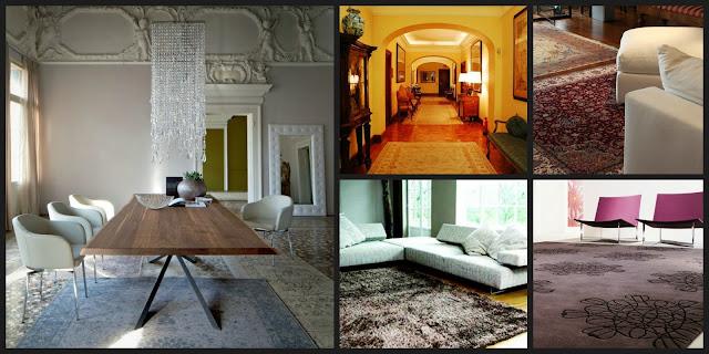 Un architetto in cucina come scegliere i tappeti per la vostra casa - Come pulire i tappeti in casa ...