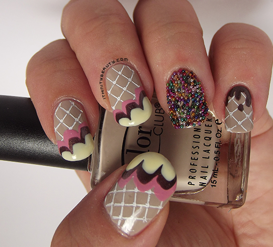 I Scream For Icecream Layla Caviar Effect Nail Art Ithinitybeauty