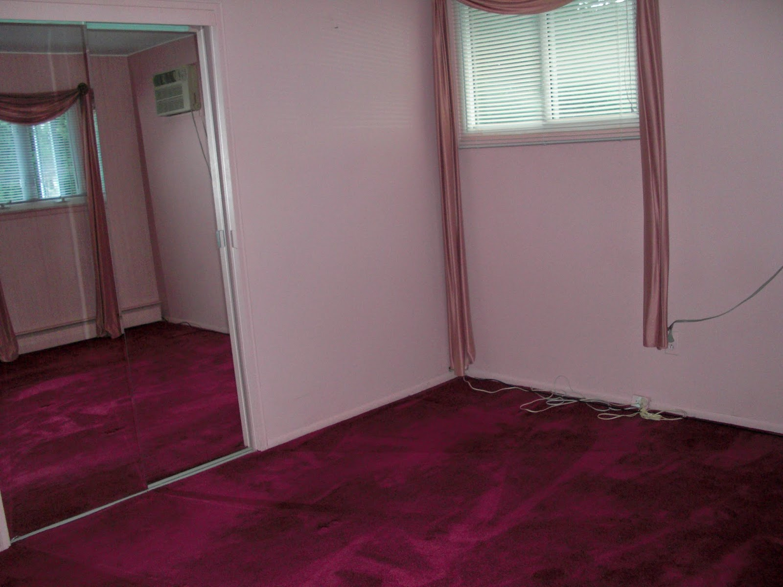 Stirred and styled the guest room for Bedroom ideas maroon walls