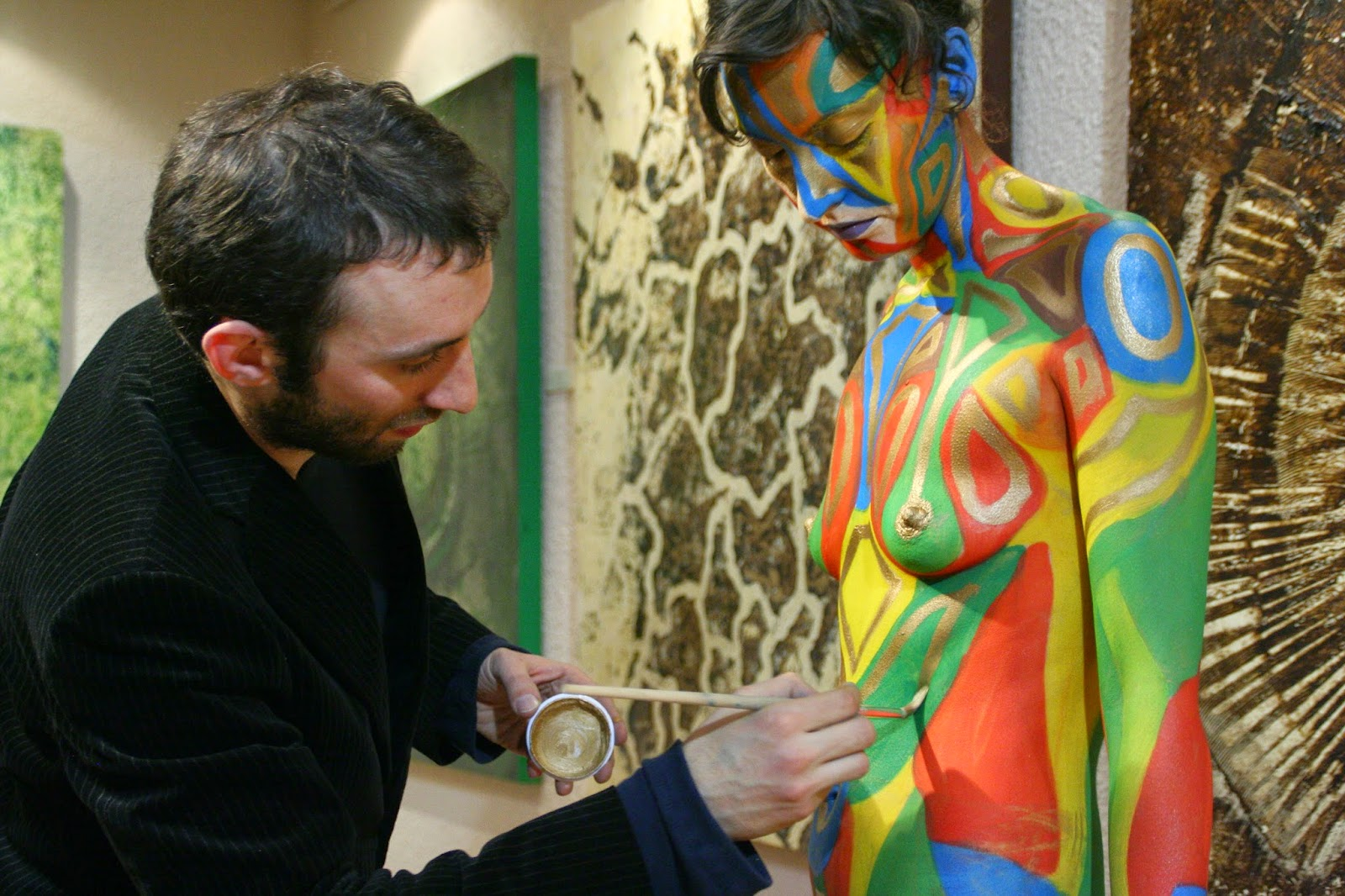 Retrospectiva 2007  Georges Ward Body Paint BodyPaint