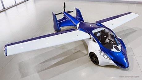 Mobil Terbang Aeromobil 3.0