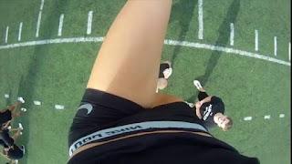 Cheerleader pom pom girl fail win compilation, les belles filles des sports en mettent plein la vue! gopro