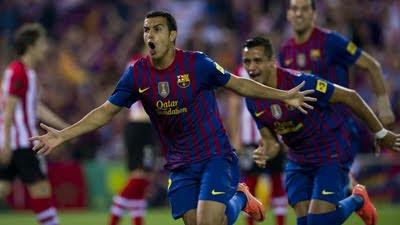 gol de Pedro final Copa del Rey