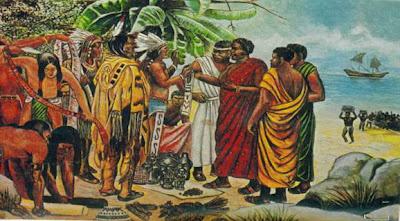 Kontak Muslim Afrika dengan orang Amerika asli