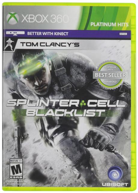 Tom Clancy's Splinter Cell: Blacklist Cover