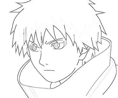 Naruto Sasori Coloring Pages