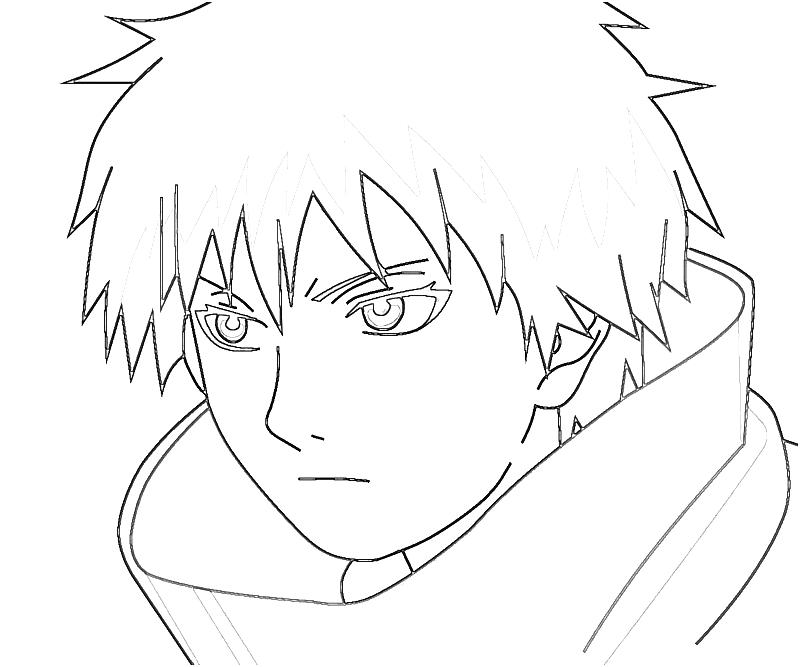 Printable Naruto Sasori Style Coloring Pages 6 title=