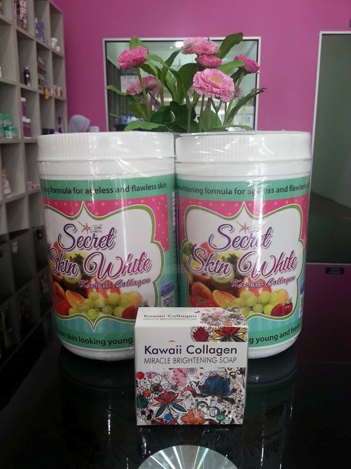 SECRET KAWAI COLLAGEN : SET DR HALINA