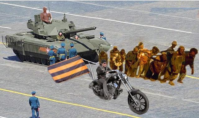 Tancul Armata defectat în Piaţa Roşie din Moscova