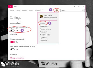 mematikan automatic update di windows 10