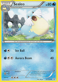 Sealeo Dragons Exalted Pokemon Card