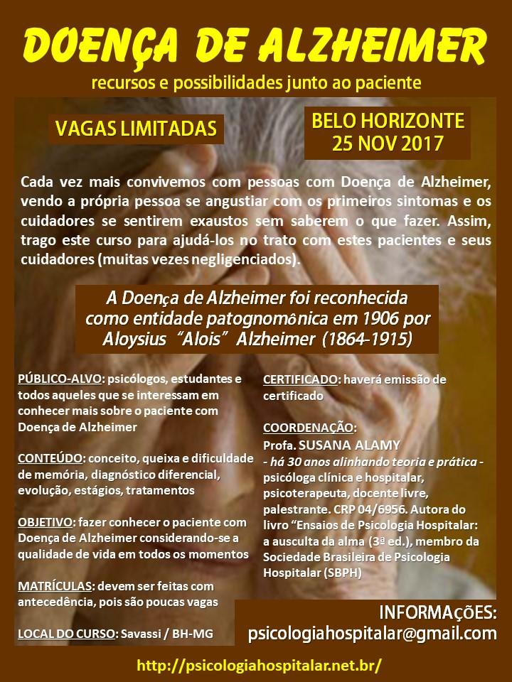 Curso: Doença de Alzheimer