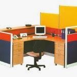 Kantor Partisi Secretary Configuration2 Uno Executive Partition