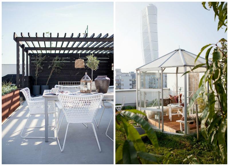Ideas para reformar tu patio o terraza la bici azul - Cubiertas para patios ...