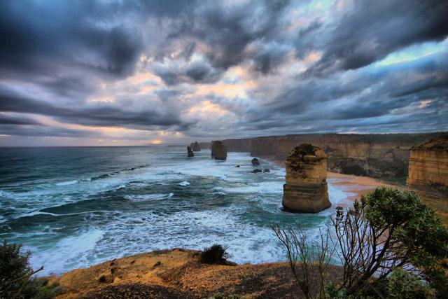 Скалы двенадцать апостолов,Австралия