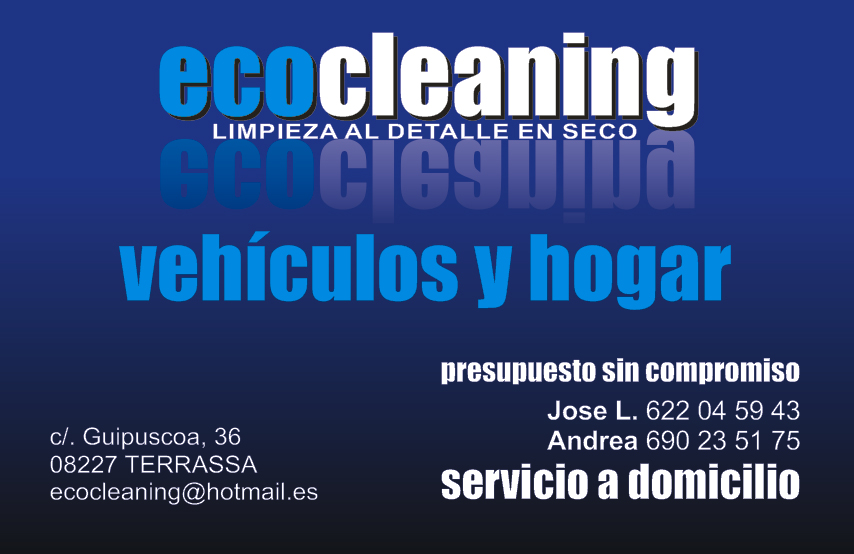 Ecocleaning bienvenidos a ecocleaning terrassa - Tapiceros en terrassa ...