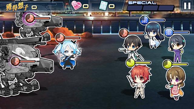 Screenshot 2 Mahouka The game Lost Zero