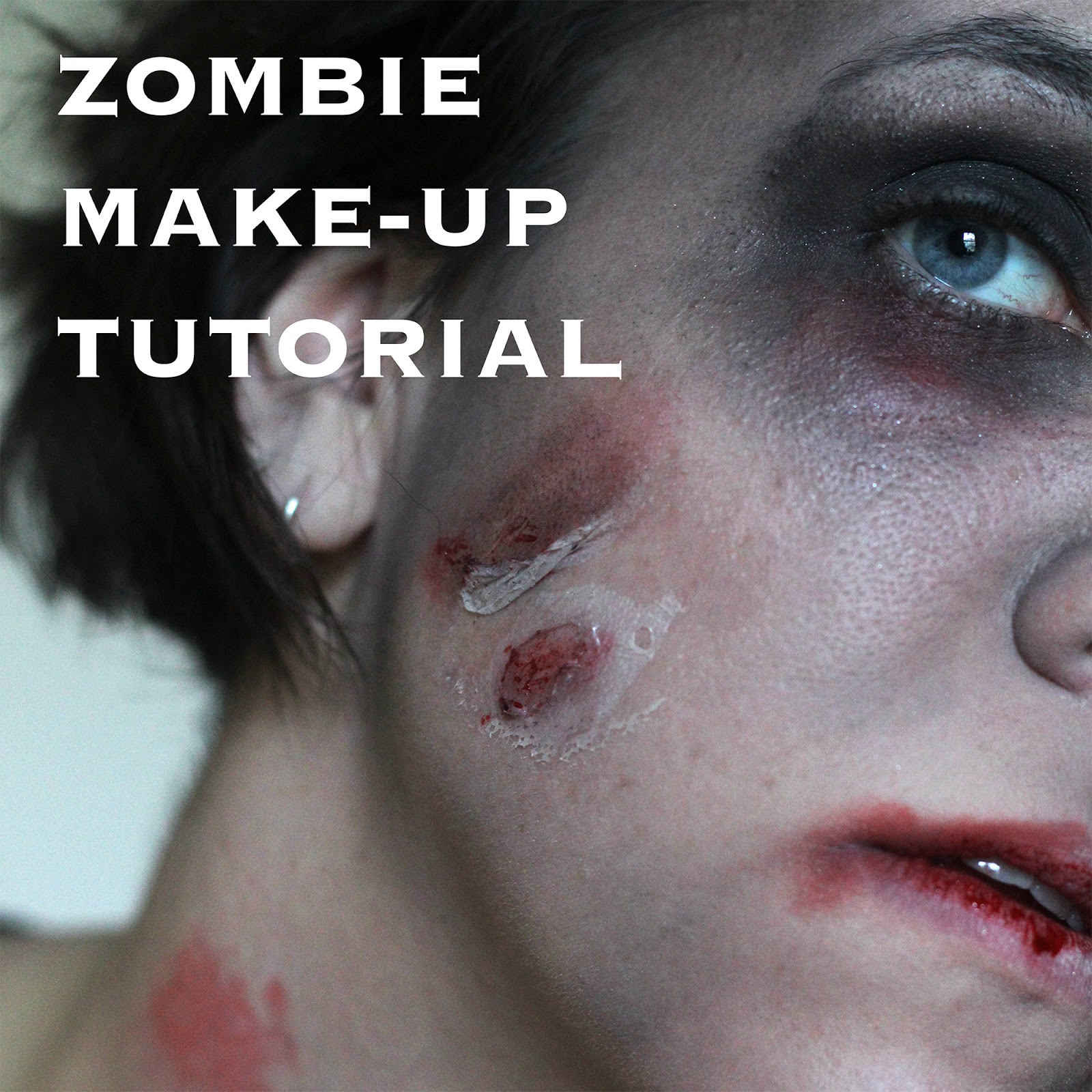 how to make zombie makeup with flour