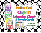 http://www.teacherspayteachers.com/Product/Clip-It-Behavior-Chart-and-Punch-Cards-Bright-Polka-Dots-809681